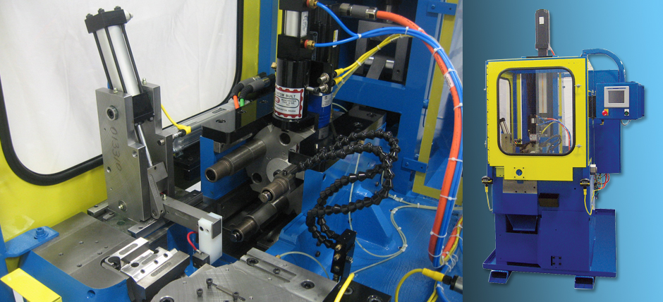 Manchester Tool & Die electric tube end forming machine